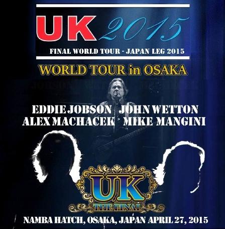 コレクターズCD uk 2015年日本公演