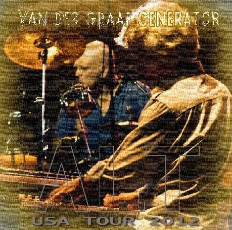 コレクターズCD ヴァン・ダー・グラーフ・ジェネレーター (Van Der Graaf Generator) 2012年アメリカンツアー