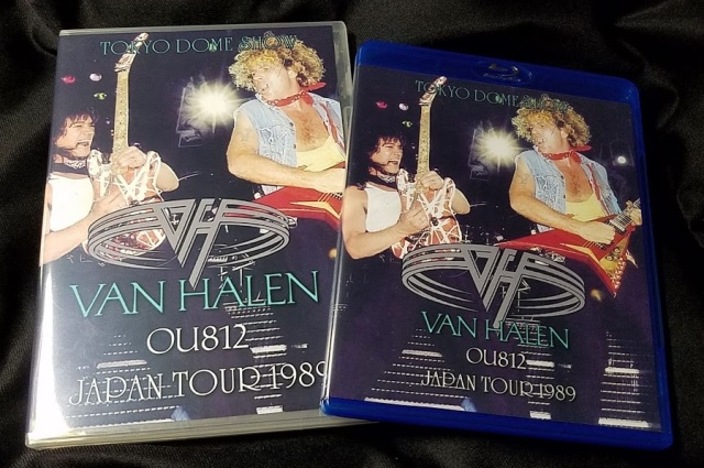コレクターズBlu-ray Van Halen - OU812 Japan Tour 1989