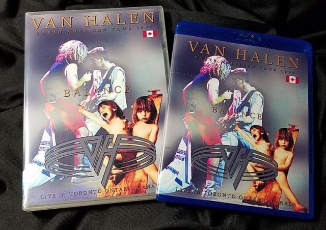 コレクターズBlu-ray Van Halen - Balance Tour 1995