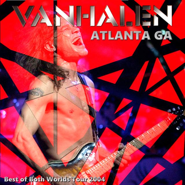 コレクターズCD Van Halen - Best of Both Worlds Tour 2004
