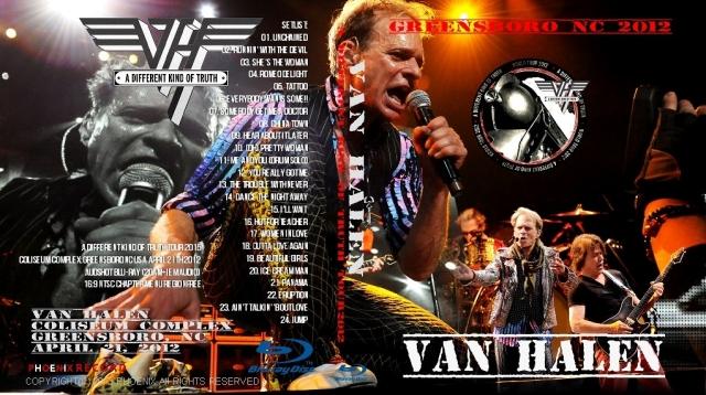 コレクターズBlu-ray ヴァンヘイレン 2012年アメリカツアー