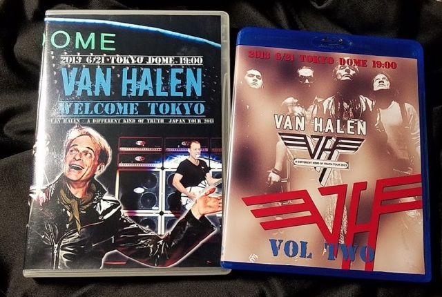 コレクターズBlu-ray Van Halen - A Different Kind Of Truth Japan Tour 2013