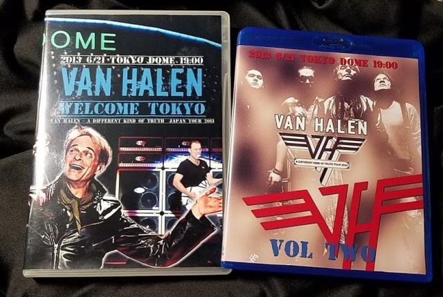 コレクターズBlu-ray Van Halen - A Different Kind Of Truth Japan Tour 2013