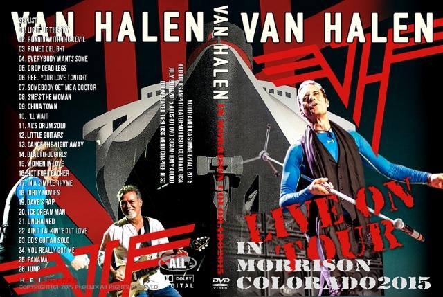 コレクターズDVD ヴァンヘイレン 2015年ワールドツアー