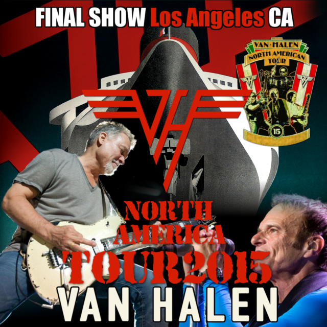 コレクターズCD Van Halen - North American Tour 2015 Final