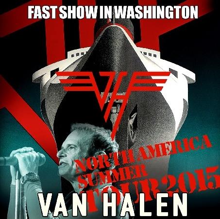 コレクターズCD  Van Halen (ヴァンヘイレン)2015年アメリカンツアー