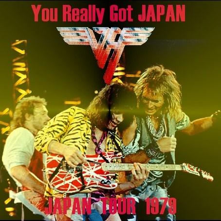 コレクターズCD Van Halen(ヴァンヘイレン 79年日本公演 大阪)