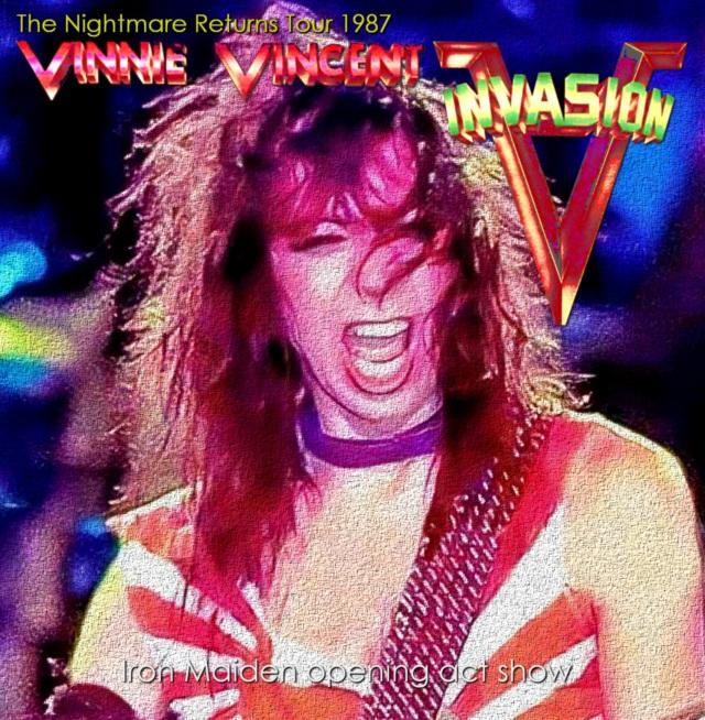 ヴィニー・ヴィンセント1987年USAツアー ニューオリンズ&エルパソ