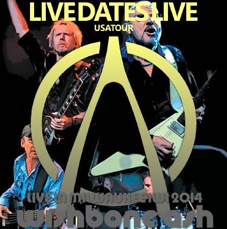 コレクターズCD ウィッシュボーン・アッシュ(Wishbone Ash) 2014年アメリカツアー