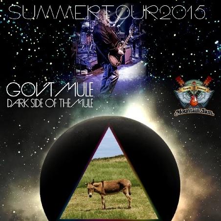 コレクターズCD ガヴァメント・ミュール(Gov't Mule)2015年 サマーツアー