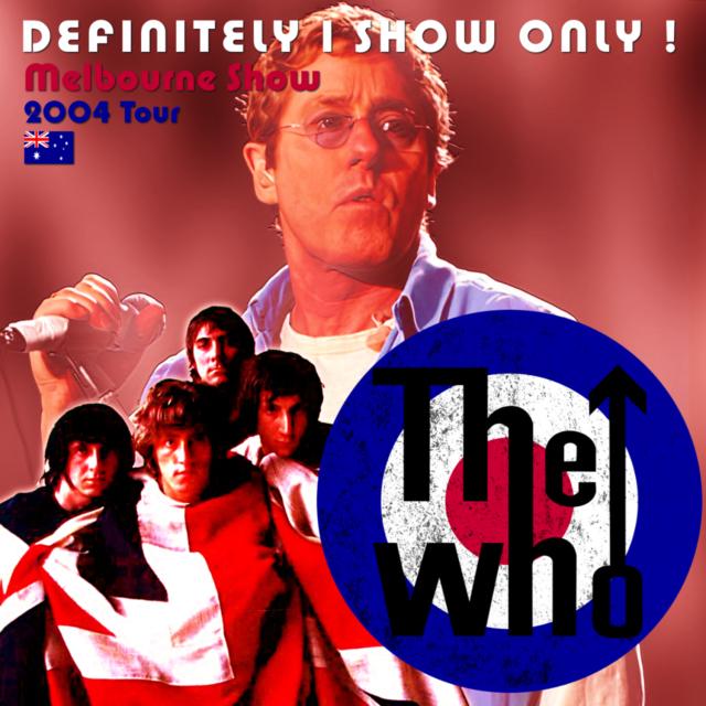 コレクターズCD The Who - 2004 Tour
