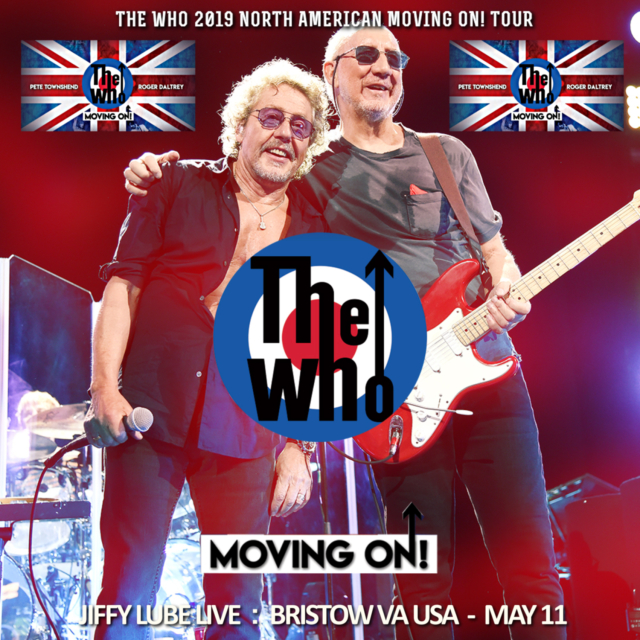 コレクターズCD The Who - Moving On! Tour 2019