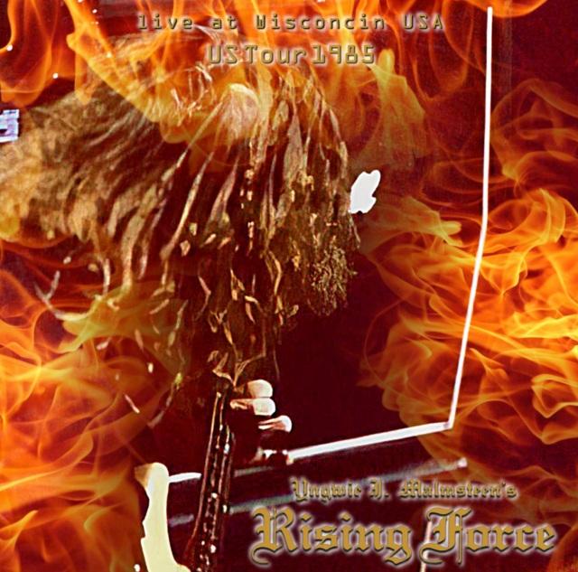 コレクターズCD Yngwie Malmsteen Rising Force - Rising Force  US Tour 1985