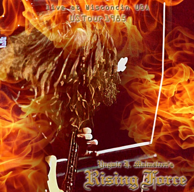 コレクターズCD Yngwie Malmsteen Rising Force - Rising Force  US Tour 1985