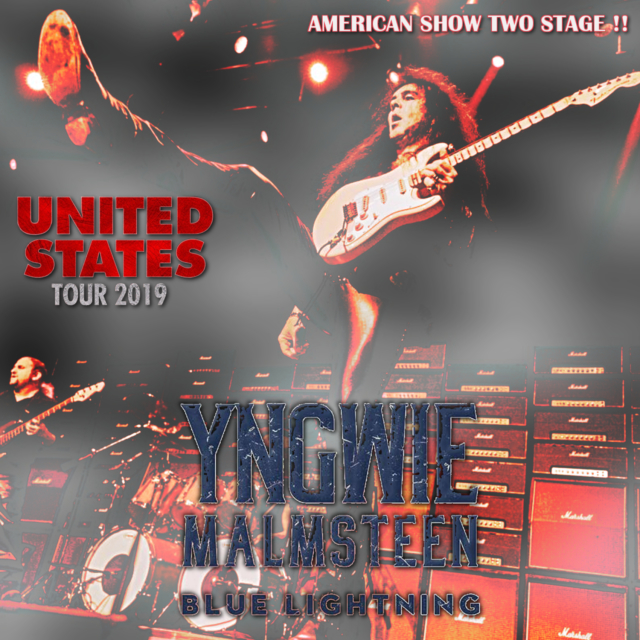 コレクターズCD Yngwie Malmsteen - Blue Lightning Tour 2019