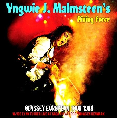 コレクターズCD イングヴェイ・マルムスティーン 1988年 ヨーロッパツアー w/Joe Lynn Turner