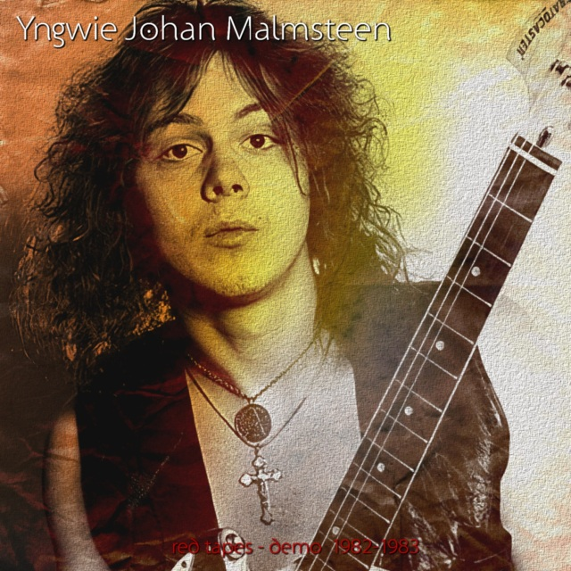 コレクターズCD Yngwie Malmsteen - red tapes Domo
