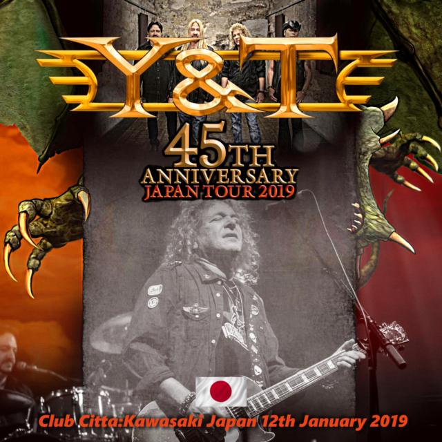 コレクターズCD  Y&T - 45th Anniversary Japan Tour 2019