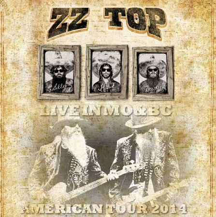 コレクターズCD ZZ Top&Jeff Beck 2014年アメリカツアー