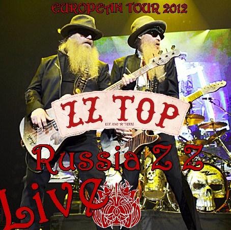 コレクターズCD ZZ Top(ズィーズィー・トップ)2012年ヨーロッパツアー
