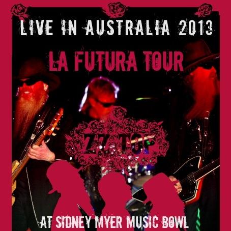 コレクターズCD  ZZ Top(ズィーズィー・トップ)2013年オーストラリア ツアー
