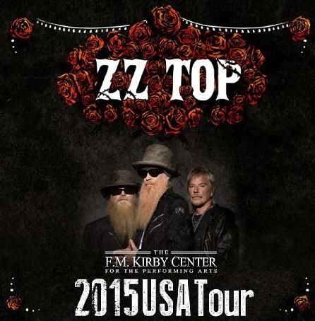 コレクターズCD ZZ Top(ズィーズィー・トップ)2015年アメリカツアー