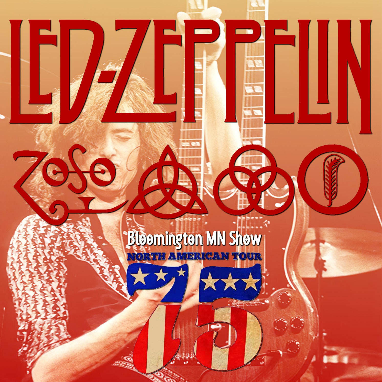 コレクターズCD Led Zeppelin - North American Tour 1975