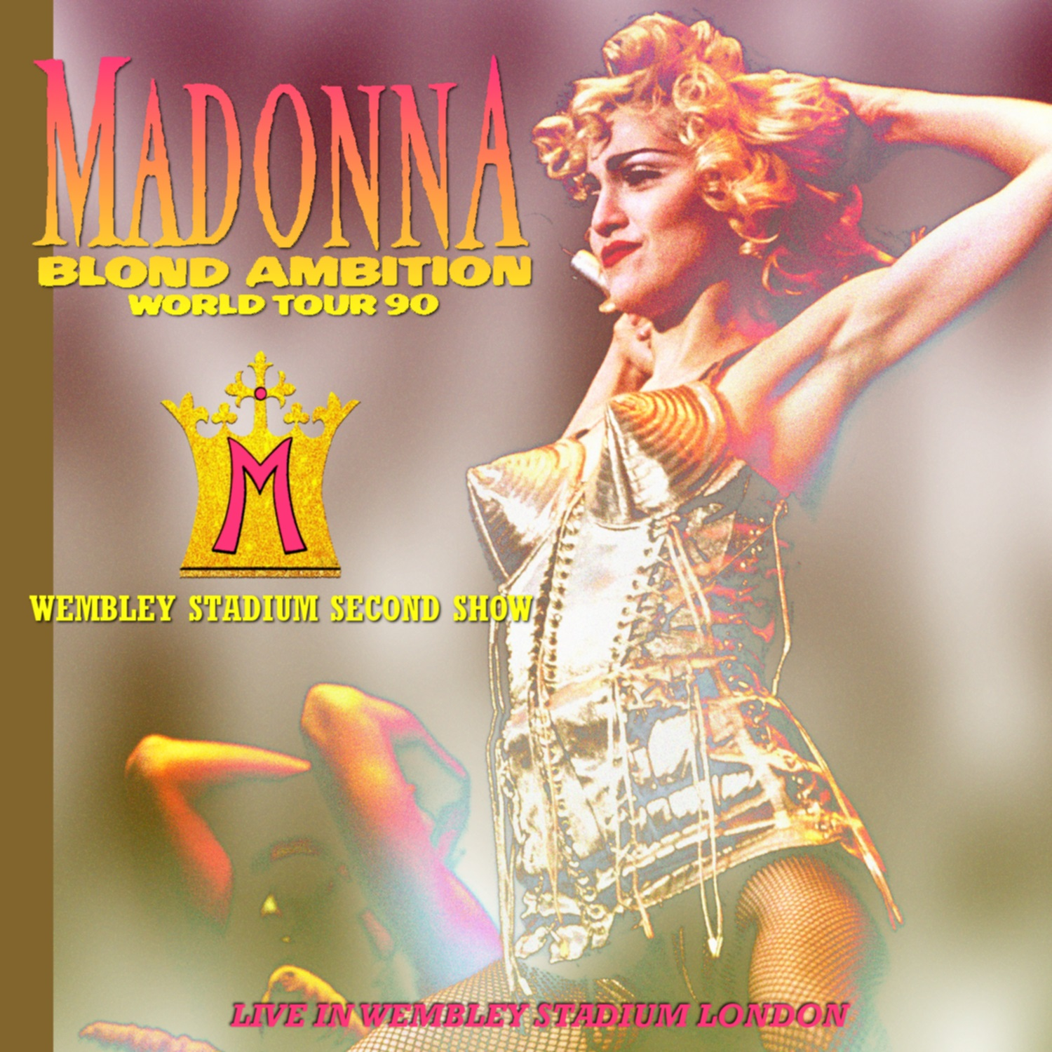コレクターズCD Madonna - Blond Ambition Tour 1990