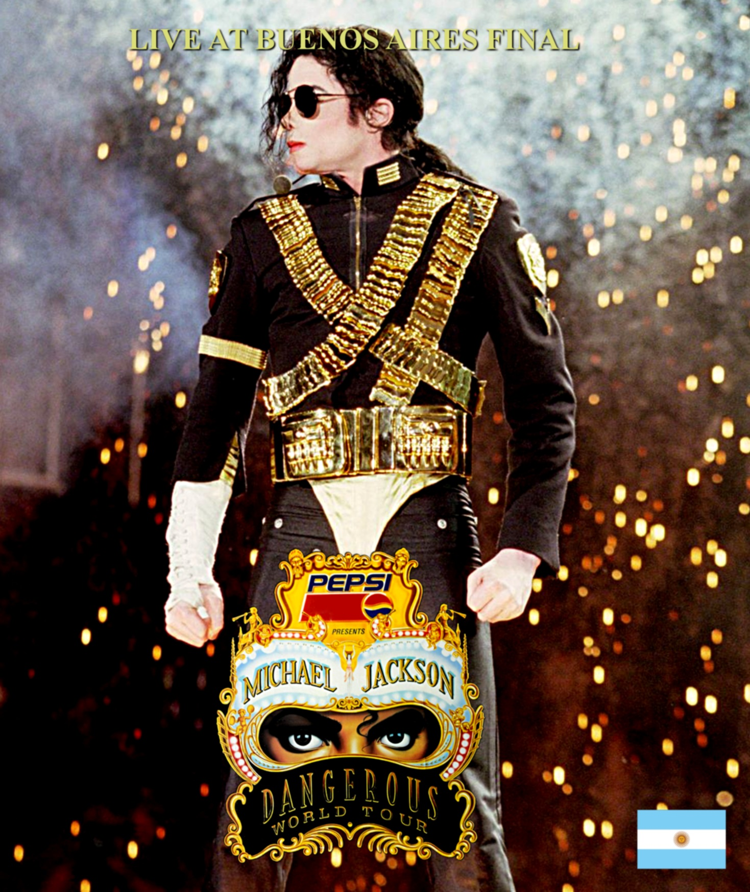 コレクターズBlu-ray  Michael Jackson - Dangerous World Tour 1993