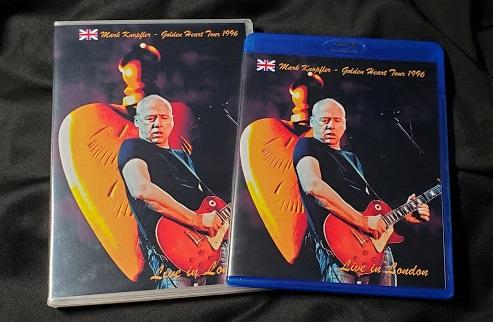 コレクターズBlu-ray  Mark Knopfler - Golden Heart Tour 1996