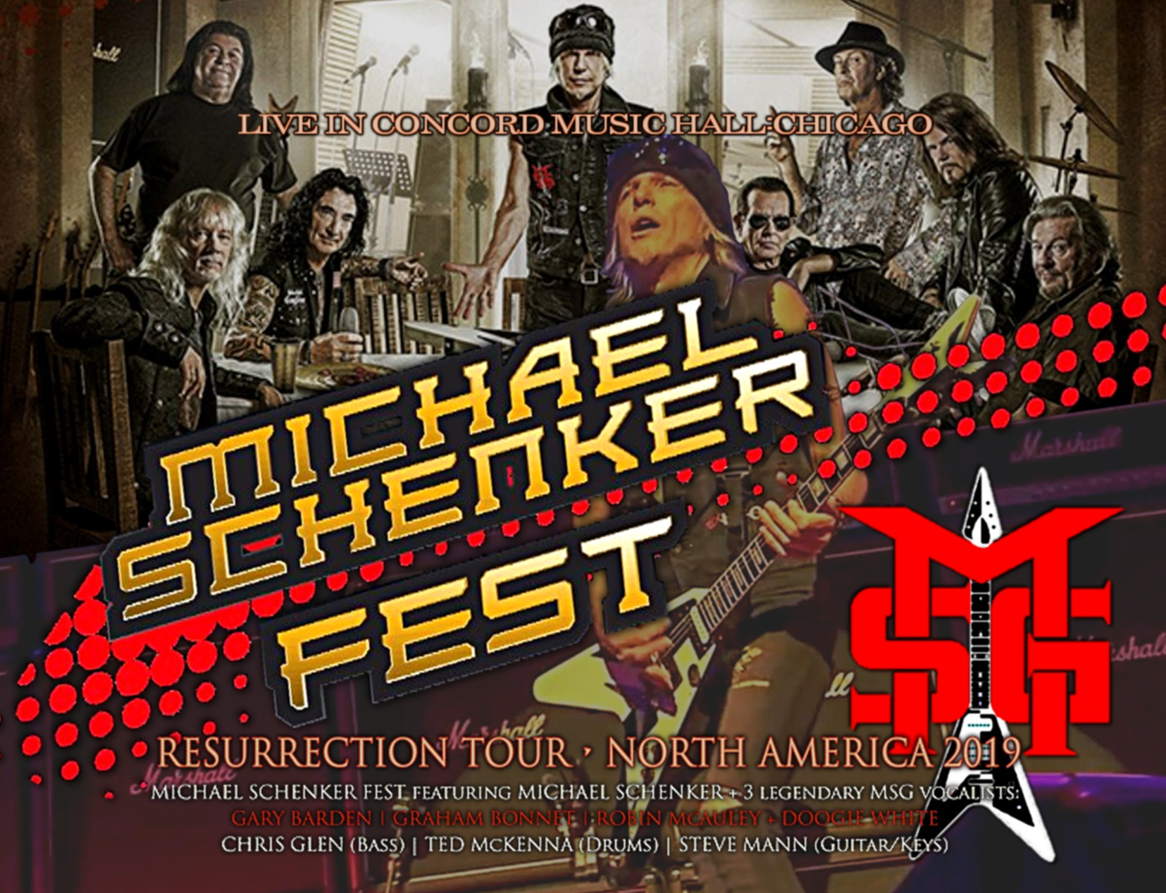 コレクターズCD Michael Schenker Fest 2019