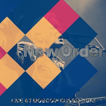 コレクターズCD ニュー・オーダー (New Order) 2013年ヨーロッパツアー