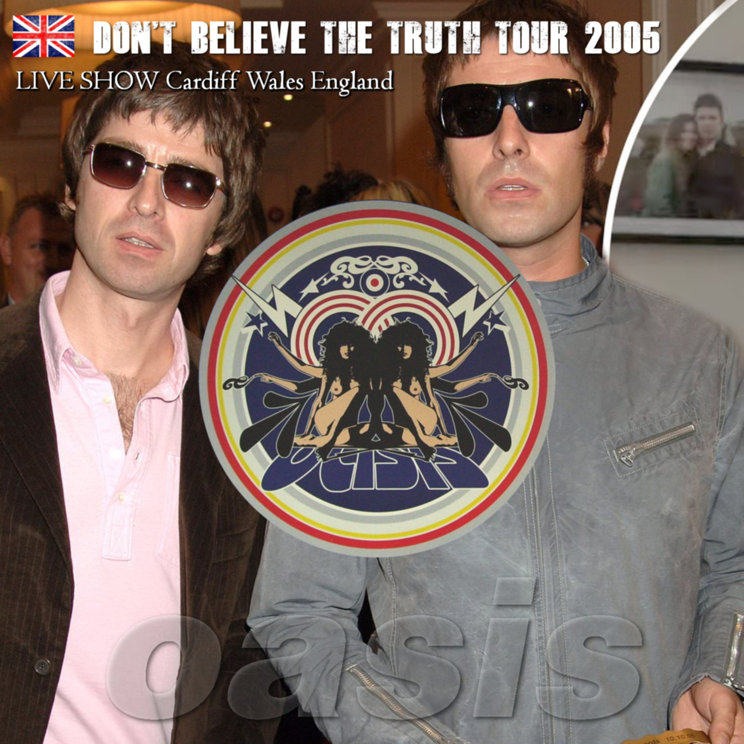 コレクターズCD Oasis - Don't Believe The Truth Tour 2005