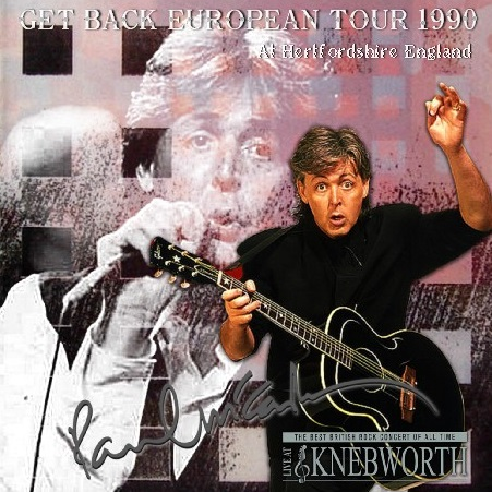 コレクターズCD Paul McCartney - Get Back European Tour 1990