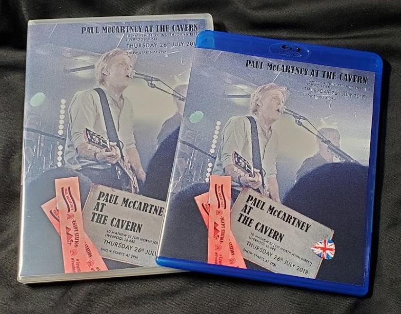 コレクターズDVD  Paul McCartney - Live at the Cavern Club 2018