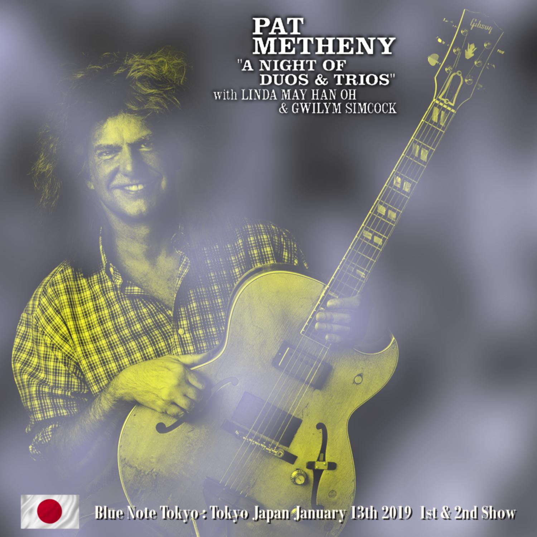 コレクターズCD Pat Metheny - Japan Tour 2019