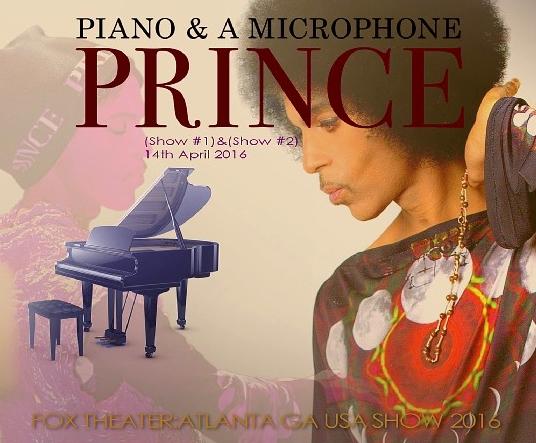 コレクターズCD プリンス 2016年Piano & a Microphone Tour