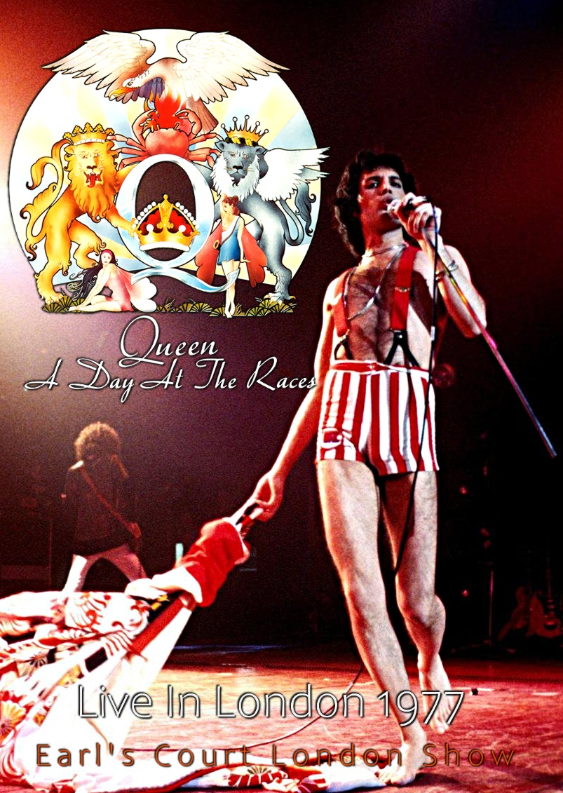 コレクターズDVD  Queen - A Day At the Races Tour 1977