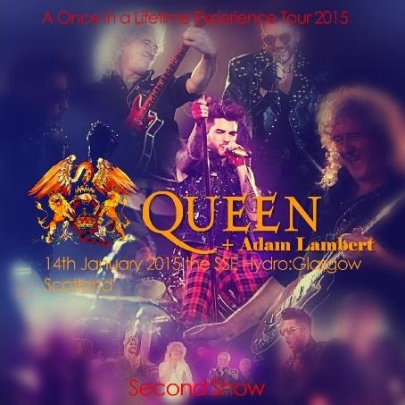 コレクターズCD クィーン+アダム・ランバート 2015年ヨーロッパツアー