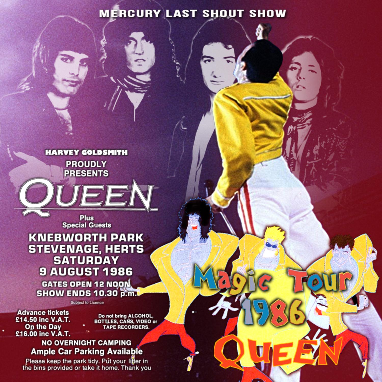 コレクターズCD Quenn - Magic Tour 1986 Final