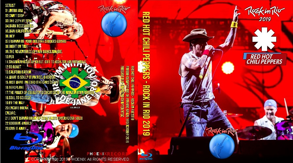 コレクターズBlu-ray Red Hot Chili Peppers - Rock in Rio 2019