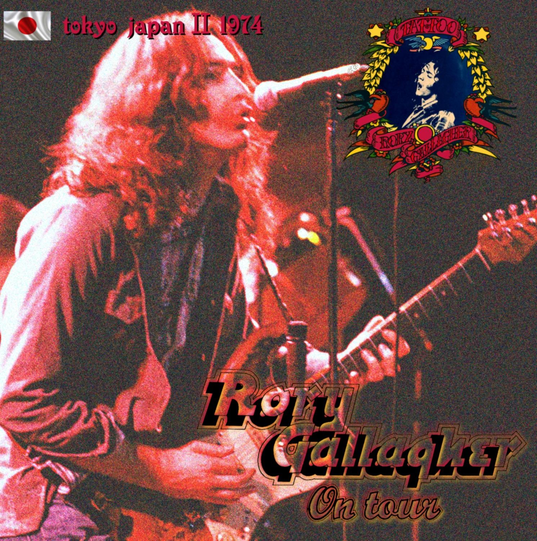 コレクターズCD Rory Gallagher - Tattoo Japan Tour 1974