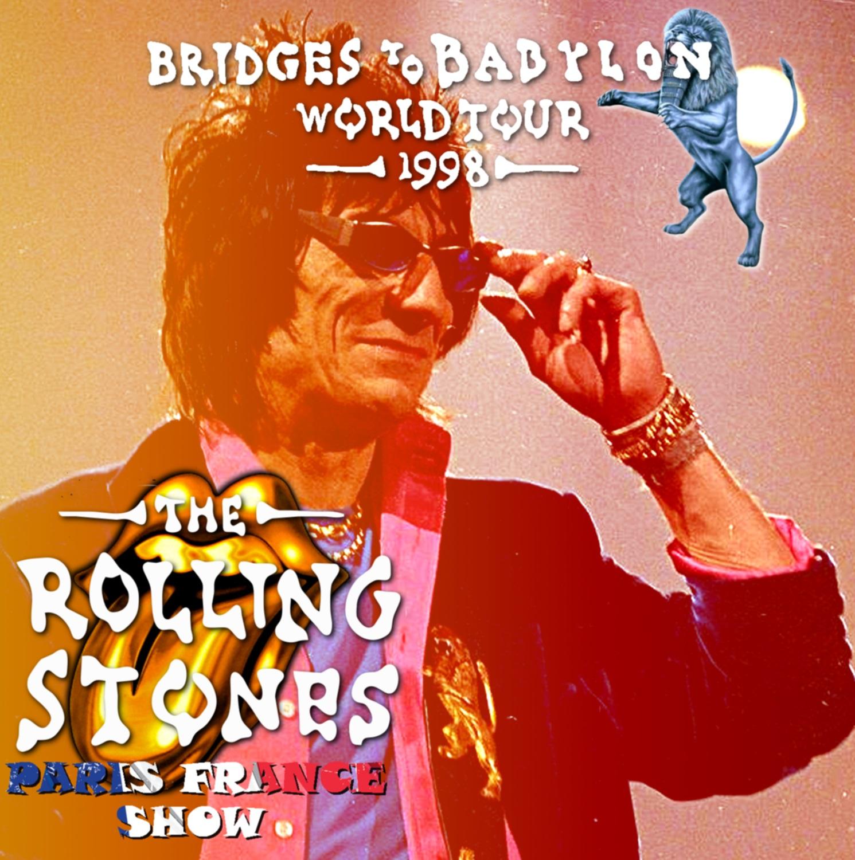 コレクターズCD Rolling Stones - Bridges to Babylon Tour 1998
