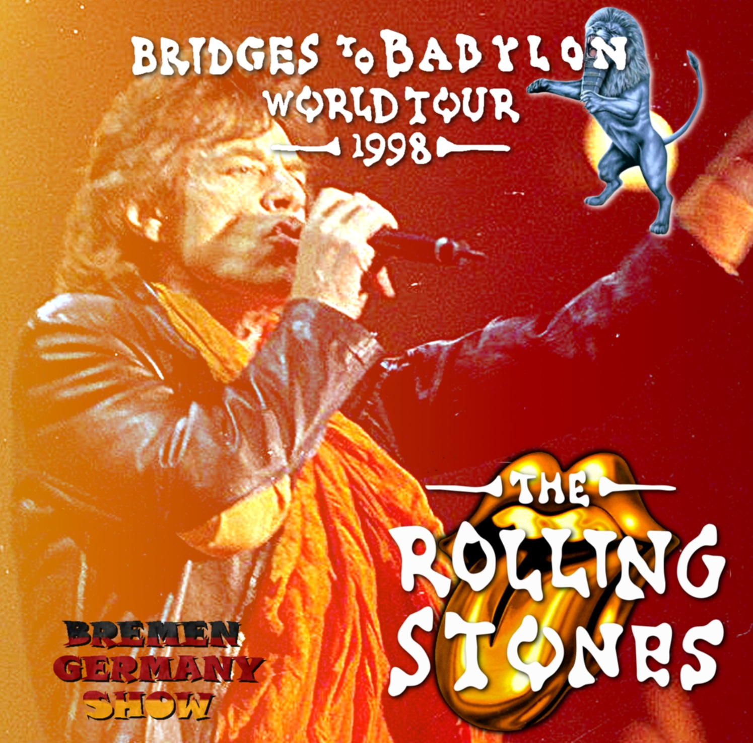 コレクターズCD Rolling Stones - Bridges to Babylon Tour 1998