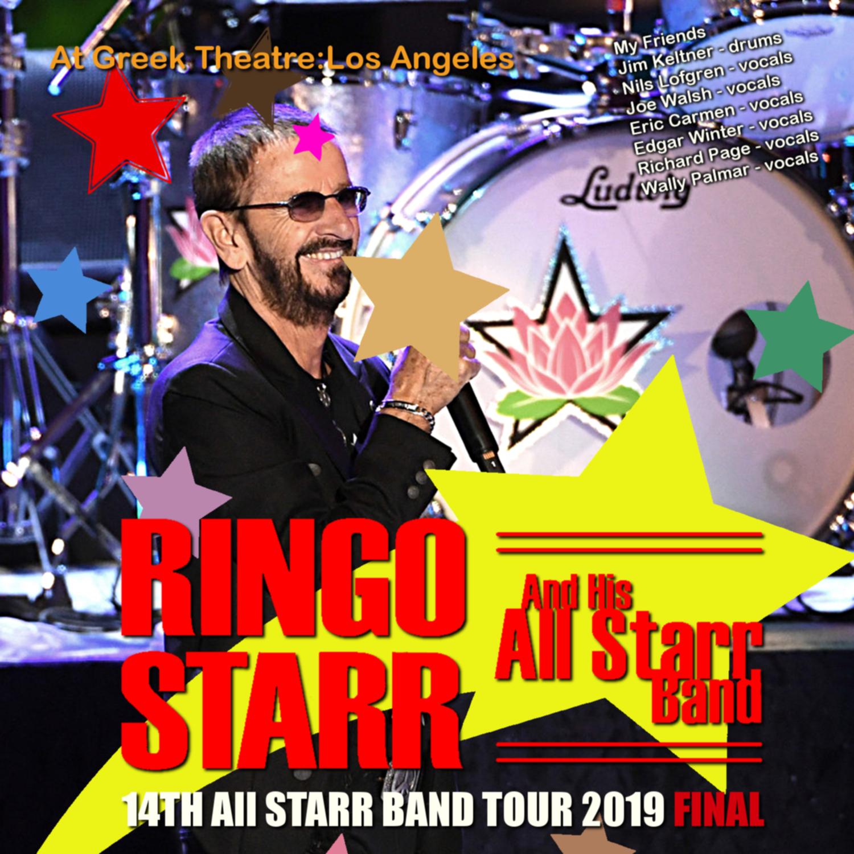 コレクターズCD Ringo Starr and His All Starr Band - 14th All Starr Band Tour 2019 Final