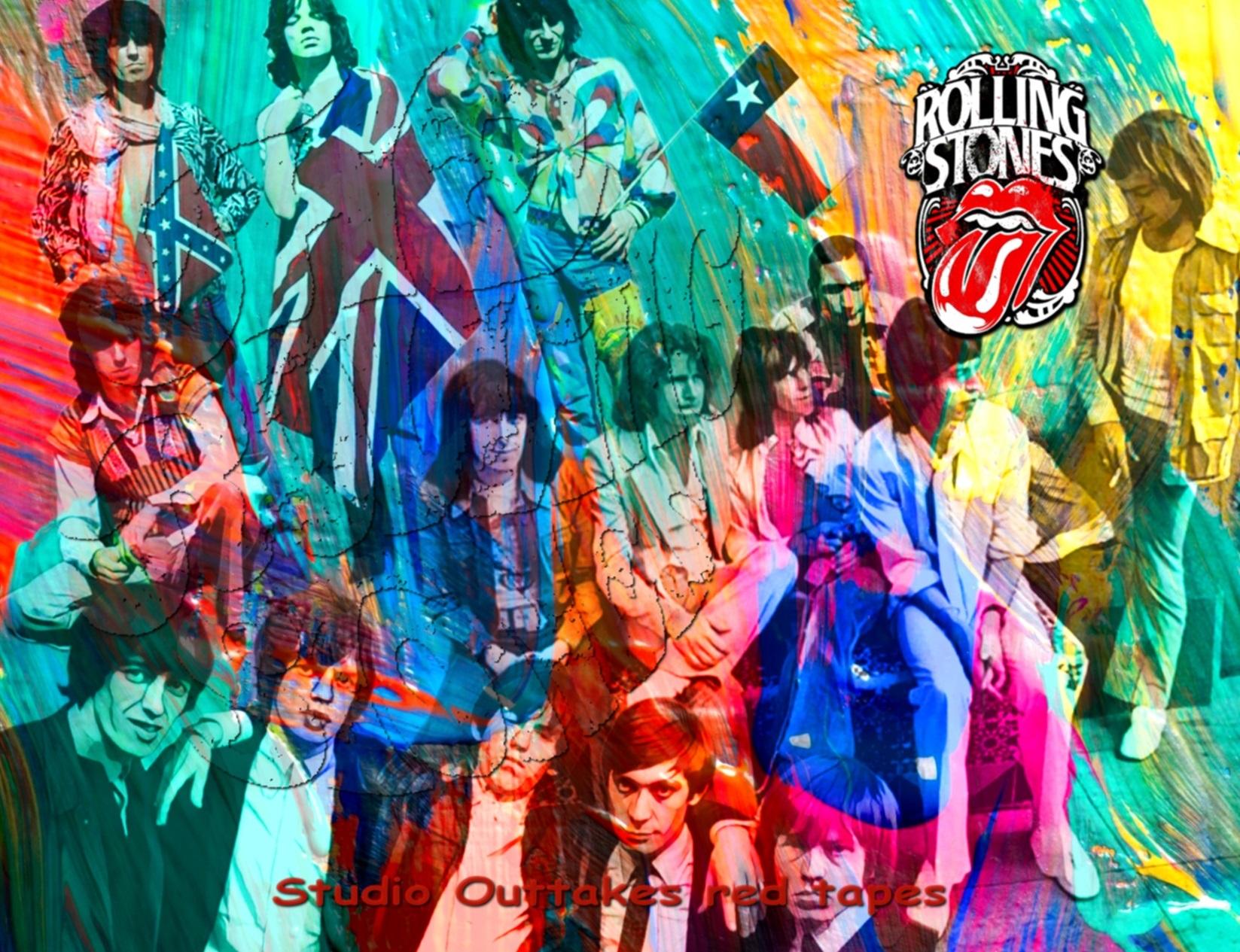 コレクターズCD The Rolling Stones - Studio Outtakes red tapes