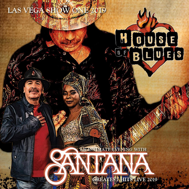 コレクターズCD SANTANA - Las Vegas 2019