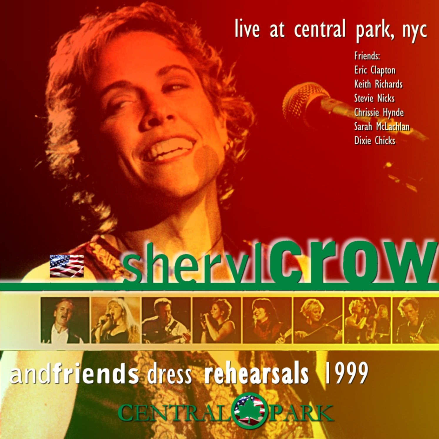 コレクターズCD sheryl crow - American Tour 1999 (dress rehearsals)