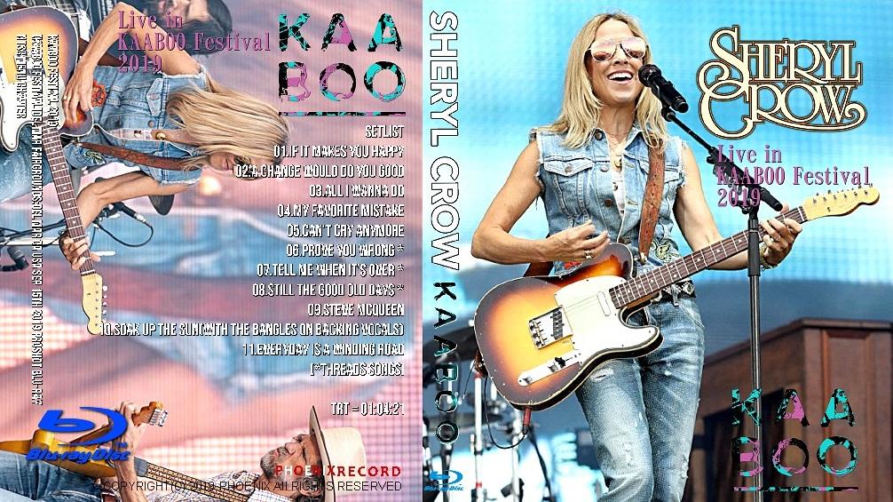 コレクターズBlu-ray Sheryl Crow - KAABOO Festival 2019
